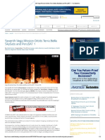 Seventh Vega Mission Orbits Terra Bella SkySats and PeruSAT 1 - Via Satellite