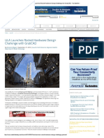 ULA Launches Rocket Hardware Design Challenge With GrabCAD - Via Satellite