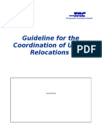 TAC Guideline for the Coordination of Utility Relocations Draft 4 Public Review