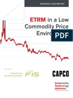 ETRM in a Low Commodity Price Environment