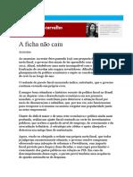 A Ficha Não Caiu - Por Laura Carvalho
