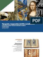 Resumen Historia tipografías y Vanguardias