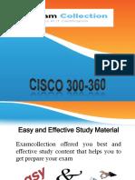 Examcollection 300-360 Braindumps