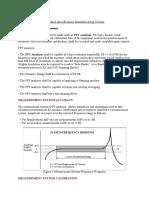 Vibration Specifications Standards Setup Criteria