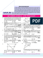 Quadrilateral and Polygon