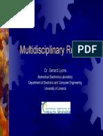 Multi Disciplinary Research