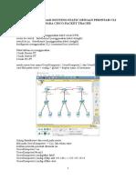 Cara Konfigurasi Routing Static Dengan Perintah Cli Pada Cisco Packet Tracer