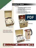 40106 Portable DC Hipots