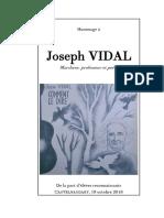 Hommage à Joseph Vidal