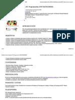 Robótica, Diseño e Impresión 3D. Programación (CEP SANTANDER)