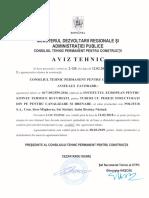 Aviz Tehnic Drenaj - Canalizare Tub PE Corugat at 017-05-2559-2016 Politub