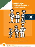 Guia Lenguaje No Sexista Universidad de Lleida