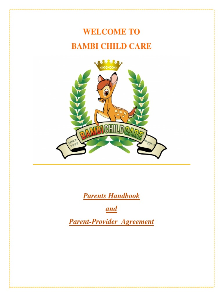Parents Handbook 2 Day Care Relationships Parenting
