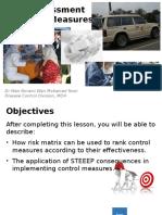 RA & Control Measures