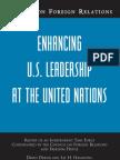 CFR - UN TaskForce