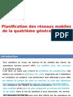 Planification Des Reseaux Mobiles de La Quatrieme Generation