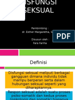 DISFUNGSI SEKSUAL