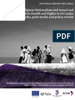 Sri Lanka Report on Ethno-religious Nationalism and SRHR