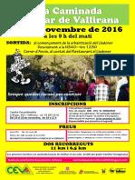 35ª Caminada Popular Vallirana 2016