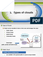 Cloud Types and Services