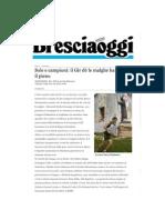 Bresciaoggi Gir de Le Malghe 7 Giugno 2010