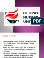 Filipino Nurses United Orientation