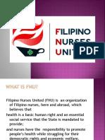 Filipino Nurses United Orientation