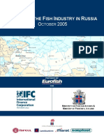 Skyrsla Fish Industry in Russia i Eurofish