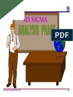 4.0 Six Sigma Analysis