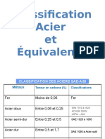 08. Classification Acier Et Équivalence