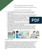 Alasan Mengapa Sistem Informasi Penting Bagi Organisasi Dan Masyarakat