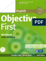Objetive First -Workbook