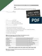 Vocabulary Worksheets – Activity 6