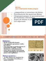 III- Les Bétons