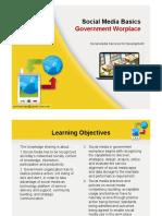 Socia Media Basics in Government [Compatibility Mode]