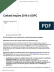 Cofund Inspire 2016 à USPC _ Université Sorbonne Paris Cité