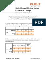 GA - Statewide Poll Topline Report 10-18-2016 v2