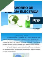 El Ahorro de Energia Electrica