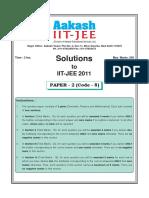 Iit Jee 2011 Paper II (Code 8)
