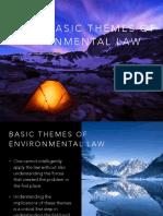 1 Basic Themes of Envi Law