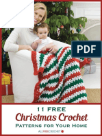 11 Free Christmas Crochet Patterns for Your Home eBook