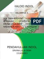 Alkaloid Indol Kel. 5