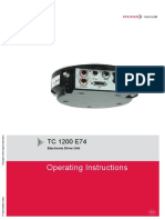 TC 1200 E74 Electronic Drive PT0239BEN L