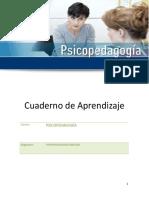 Cuaderno de Aprendizaje Psicopedagogia Familiar