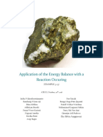 Revisi 1 - Application of the Energy Balance With a Reaction Occuring