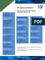 IWE Diploma Dates 2016-2017