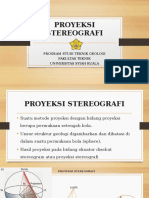 proyeksi stereonet