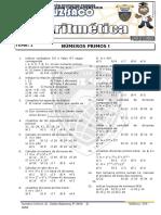 Aritmetica - 1er Año - III Bimestre - 2014