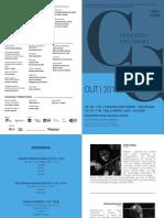 Programa de Sala | Concerto de Câmara | Outubro 2016
