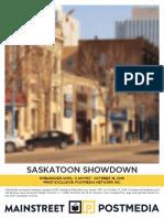 Mainstreet - Saskatoon Election Oct 17